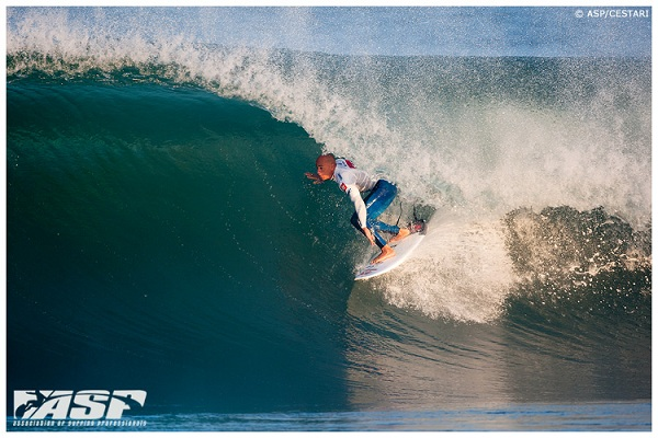 Kelly Slater (USA), 40, reigning 11-time ASP World Champion, has claimed the 2012 Quiksilver Pro France.