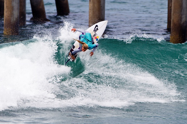 Lakey Peterson (USA), 17, 2012 Nike US Open of Surfing Champion!!!