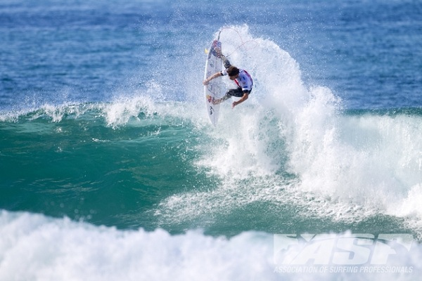 Wildcard Dane Reynolds (USA), 27, will take on Joel Parkinson (AUS), 31, and Bede Durbidge (AUS), 29, in Round 1 of the Quiksilver Pro France.