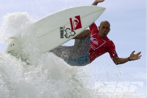 Kelly Slater (USA), 40, reigning 11-time ASP World Champion, will face Michel Bourez (PYF), 26, and Heitor Alves (BRA), 29, in Round 4 of the Quiksilver Pro Gold Coast.