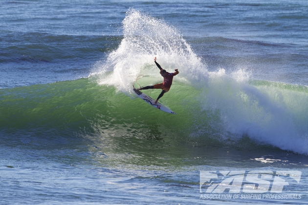 Taj Burrow (AUS), 34, winner of the 2012 O'Neill Coldwater Classic.