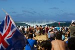 Opening Day Of Volcom Pipe Pro Is On