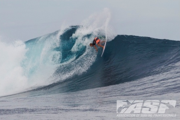 Patrick Gudauskas (USA), 26, will take on Julian Wilson (AUS), 23, in Heat 4 of the elimination Round 2 at the Volcom Fiji Pro.