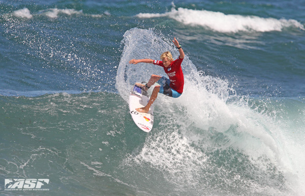 Newcastle's Jackson Baker (AUS) doing his hometown proud. Pic Sproule/RedMonkey