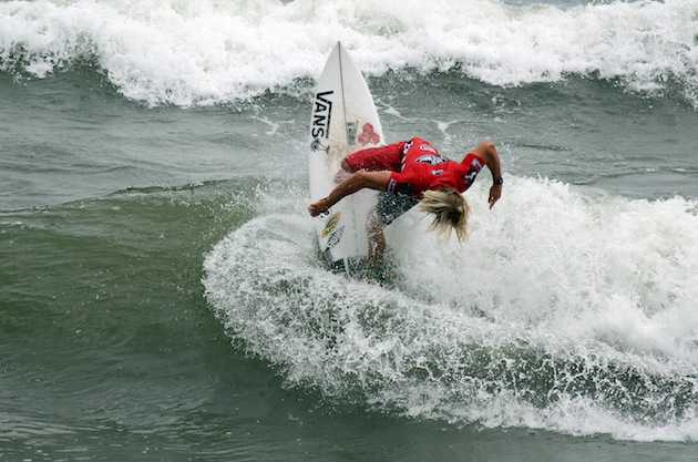 Tanner Gudauskas (USA), 25, will be the top seed in the 2013 Vans Pro.