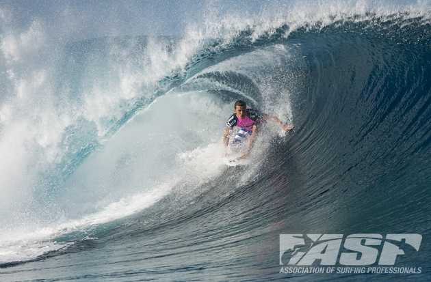 Julian Wilson (AUS), 24, will face off against Adam Melling (AUS), 28, in Heat 9 of Billabong Pro Tahiti Round 3.
