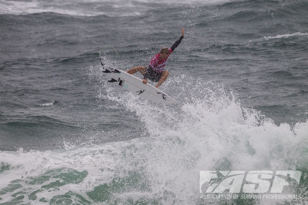 Josh Kerr (AUS), 28, earned a near-perfect 9.77 out of 10 for this massive frontside air-reverse.