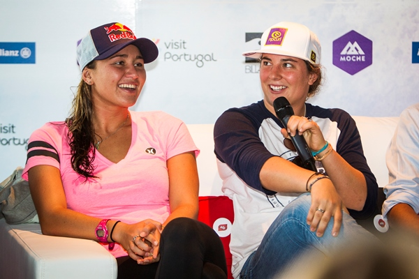 Carissa Moore (HAW), 21, and Tyler Wright (AUS), 19, will face off for the 2013 ASP Women's World Title this week at the EDP Cascais Girls Pro presented by Billabong.