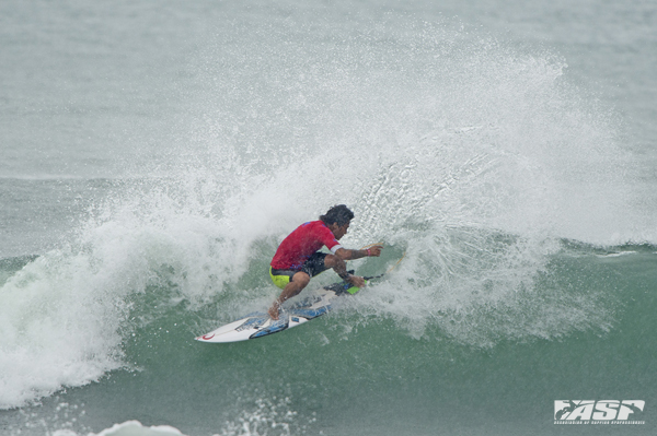 Made Widiarta (IND), one of today's top performers and one of tomorrow's Quarterfinalists. Pic ASP/Robertson
