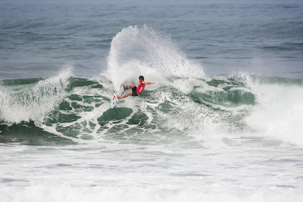 Coffin had a standout year on the ASP QS in 2013 and will look to start off 2014 with a result at the Volcom Pipe Pro.