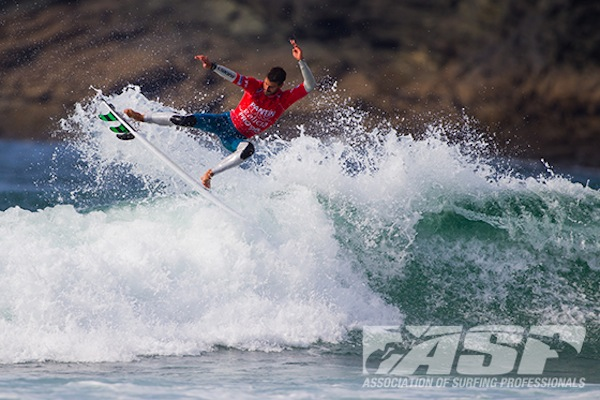 Vincent Duvignac was a standout on Day 3 of the Pantin Classic Galicia Pro.