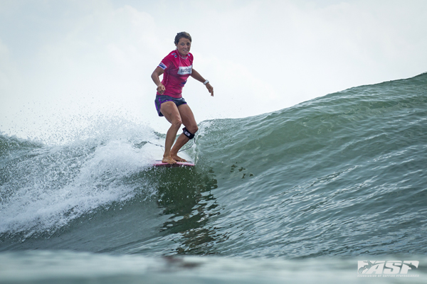 Chelsea Williams (AUS), 2011 Swatch Girls Pro Champion, 2012 runner-up is into the Quarterfinals. Pic Poullenot