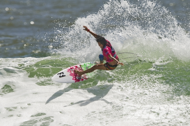 Silvana Lima (BRA), 28, was sidelined for the 2012 season following a knee injury at the Roxy Pro Gold Coast.