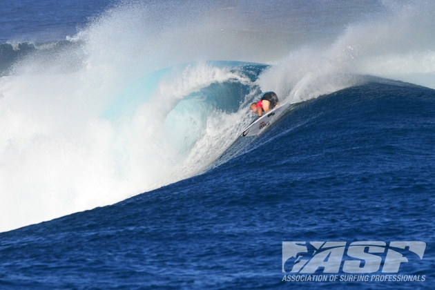 Mick Fanning (AUS), 31, will take on fellow Gold Coaster Joel Parkinson (AUS), 32, in Quarterfinal No. 4 of the Volcom Fiji Pro.