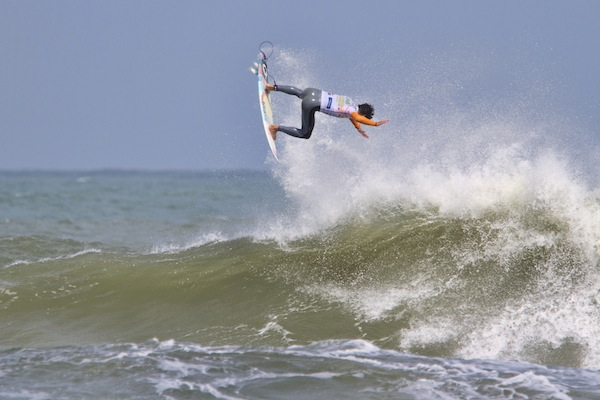 Gabriel Medina (BRA), 19, 2013 Men's ASP World Junior Champion.
