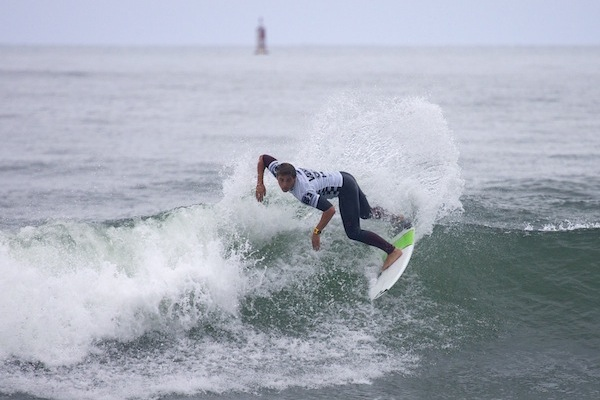 Jake Halstead, winner of the 2013 ASP North America Pro Junior Series.