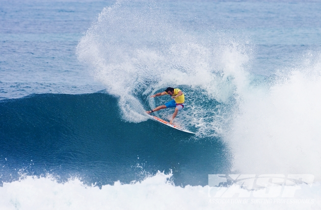 Jordy Smith (ZAF), 24, will remain with major sponsor, O'Neill, entering his fifth year on the ASP WCT.