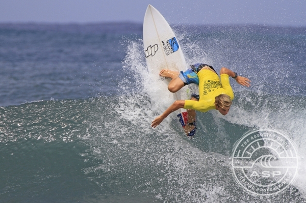 Harrison Martin (AUS) will be representing his sponsor Carve at their first ASP event in in January. Pic ASP/Will H-S