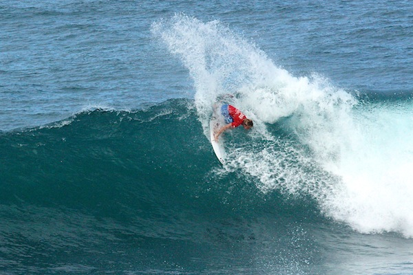 Parker Coffin won the Sprite Soup Bow Pro Junior in pumping waves at Soup Bowl.