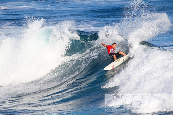C.J. Hobgood advanced to the Quarterfinals of the SATA Airlines Azores Pro.