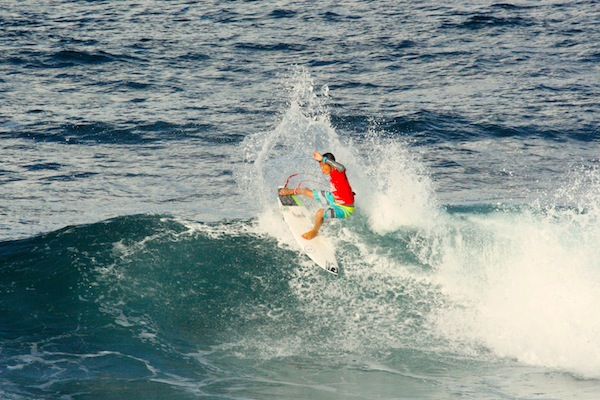 San Clemente's Kei Kobayashi earned the high heat-total on opening day of the Sprite Soup Bowl Pro Junior.