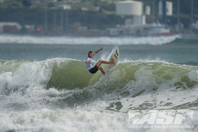 ASP Women's WCT Rookie Bianca Buitendag (ZAF), 19, will surf in Heat 2 of Round 3 at the TSB Bank NZ Surf Festival.