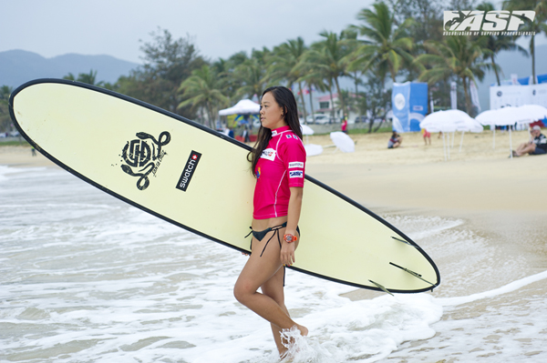 China's Darci Liu (CHN) is in the first heat of the day. Pic ASP/Will H-S