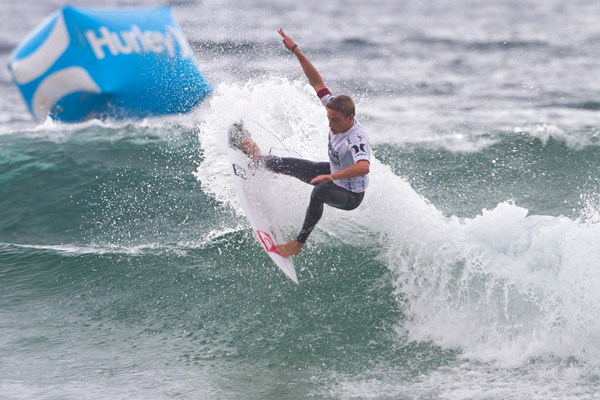 2012 Hurley Australian Open of Surfing Champion Matt Banting is ready to defend his title. Pic ASP/Dunbar
