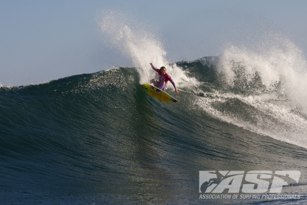 Carissa Moore (HAW), 20, current ASP WCT No. 2, is coming fresh off a victory in Western Australia and poised to make a run at the Rip Curl Women's Pro Bells Beach.