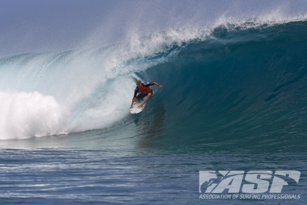 Mick Fanning (AUS), 32, two-time ASP World Champion and current ASP WCT No. 1, leads the world's best surfers into the Billabong Pro Tahiti.