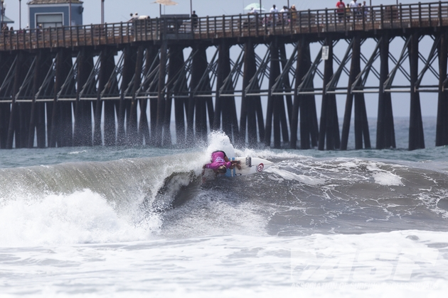 Pauline Ado (FRA), 22, is one of 12 ASP Top 17 members competing at this year's ASP 6-Star Supergirl Pro.