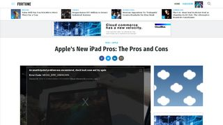 Apple's New iPad Pros: The Pros and Cons - Fortune