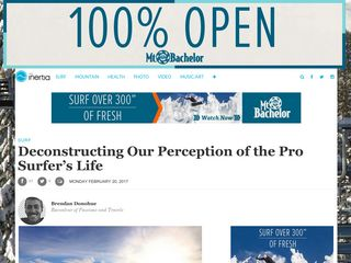 Deconstructing Our Perception of the Pro Surfer's Life - TheInertia.com