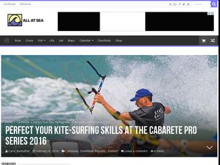 Perfect Your Kite-Surfing Skills at the Cabarete Pro Series 2016 - All At Sea