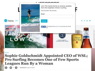 Sophie Goldschmidt Appointed CEO of WSL; Pro Surfing Becomes One of Few Sports Leagues Run By a Woman - TheInertia.com