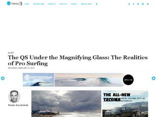 Surf The QS Under the Magnifying Glass: The Realities of Pro Surfing - TheInertia.com