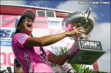 Layne Beachley World Champ 2006