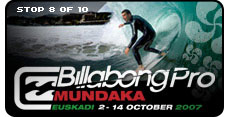 Billabong Pro Mundaka Surf Contest