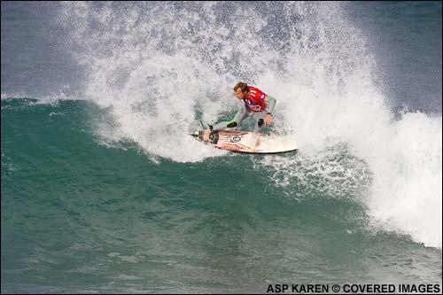 Taj Burrow, Heat of the Day, Billabong Pro JBay South Africa Surf Contest