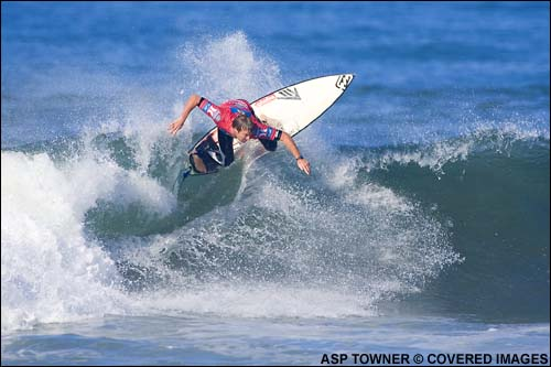 taj Burrow Boost Mobile Pro Trestles Surf Contest