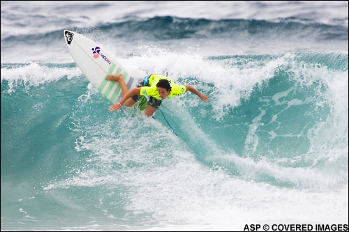 Chelsea Hedges Wins the Roxy Pro Gold Coast.  Pic credit ASP Tostee