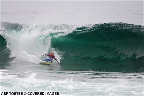 Mick Fanning, Rip Curl Pro Search Arika Chile surf contest.  Pic credit asp tostee