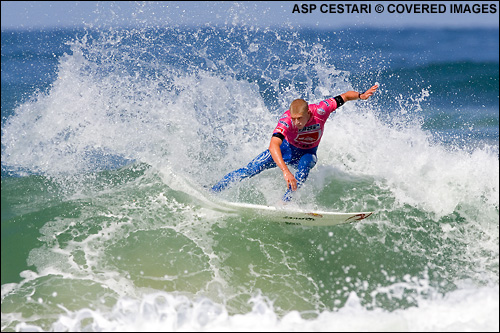 Mick Fanning Advances Out of Round 3 at The Quiksilver Pro France Surf Contest.  Photo credit ASP Media
