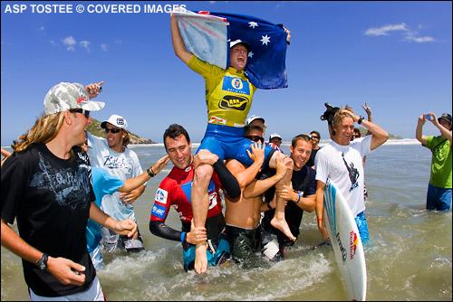 Mick Fanning Wins Hang Loose Santa Catarina Pro and ASP World Title.  Surf Photo Credit ASP Tostee