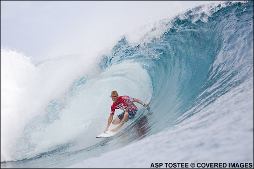 Mick Fanning Rip Curl Pro Search.  Teahupoo Pic credit ASP Tostee