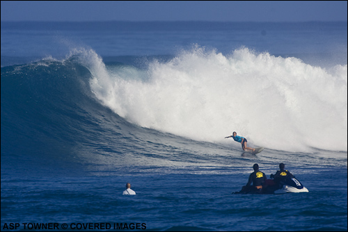 Coco Ho 2007 Triple Crown of Surfing Rookie of The Year.   Surfing Photo Credit ASP Tostee