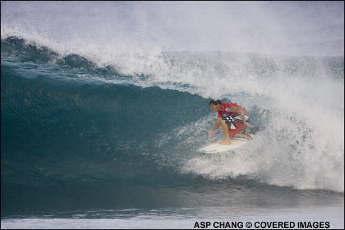 Andy Irons, Billabong Pipeline Masters Round 1.  Photo ASP Tostee