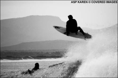 Andy Irons Big Air at The Billabong Pro JBay Surf Contest