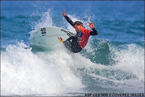 Andy Irons Billabong Pro Mundaka Surf Contest