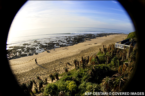 No Surf Today at The Billabong Pro JBay Surf Contest; More Swell Forecasted For Later In The Week